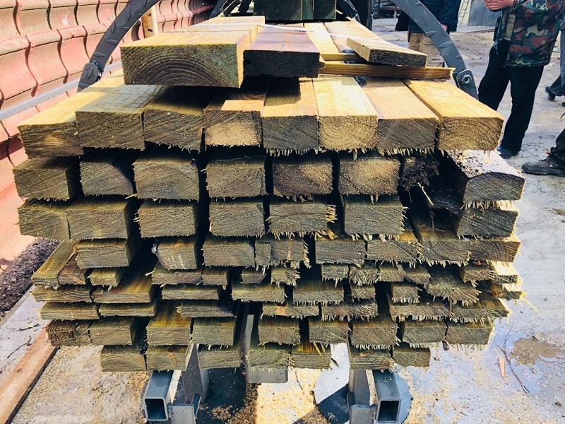Вакуумная установка для глубокой вакуумной пропитки древесины