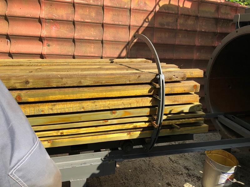 Вакуумная установка для импрегнации (глубокой вакуумной пропитки) древесиныВакуумная установка для глубокой вакуумной пропитки древесины